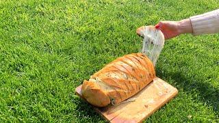 ЛУЧШАЯ ЗАКУСКА К ШАШЛЫКУ / Хлеб на гриле
