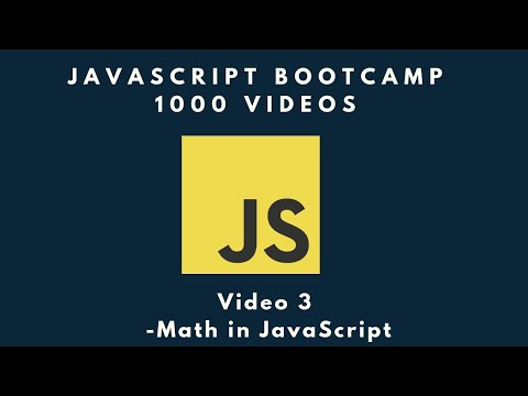JavaScript Math, you don't need to be a math genius! - JavaScript BootCamp Video #3 thumbnail