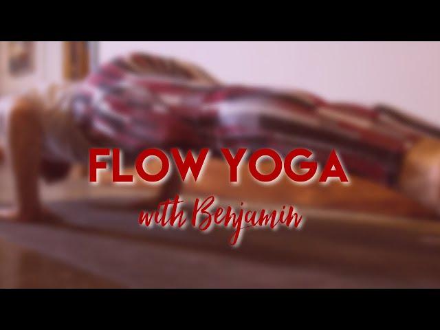 Strength and Stillness | Flow Yoga w/ Benjamin and Piggy The Dog | Live Studio  - Common Bond