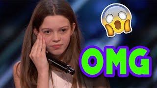 shy Girl Shocks Entire Audience! Americas Got Talent 2018