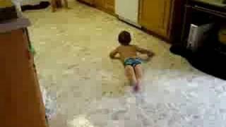 indoor slip-n-slide