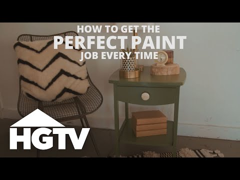 Smart Tips For A Perfect Paint Job Hgtv