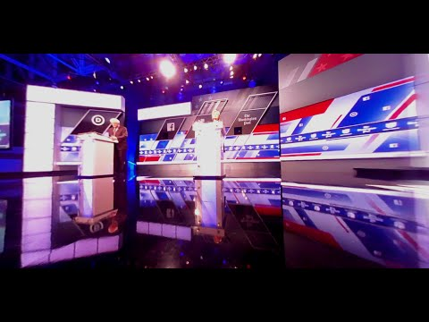 360 Video: Experience the Democratic debate from the stage