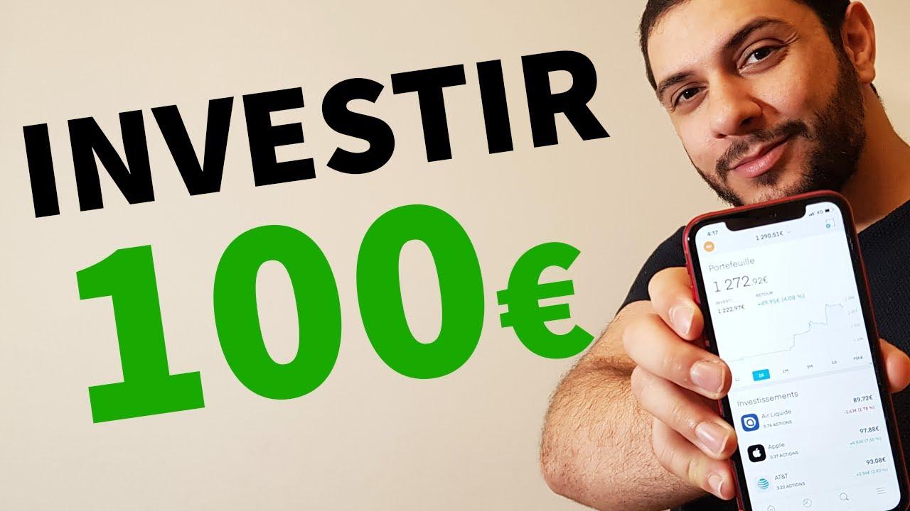Comment investir 100 euros en 2021 (3 techniques)