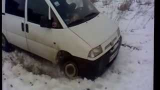 Fiat Scudo Зима.