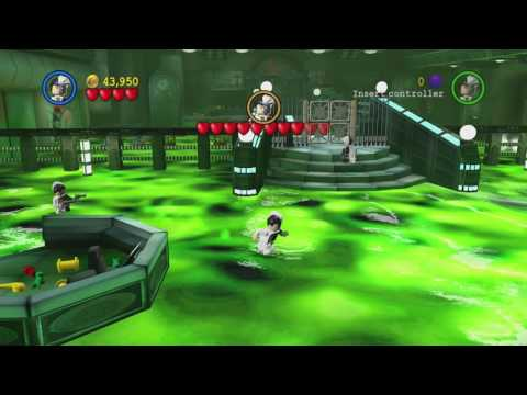 LEGO Batman: The Videogame ~ Chapter 1-5: The Face-Off (Collectibles Guide)