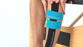STRENGTHTAPE® | Kinesiology Tape | Lateral Shin Splints (Anterior Shin Splints)