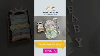 Quần áo trẻ em,  Petit bé gái 149- 169k  /1 chục #quanaotreem #quanaotrecon #quanaotreemcaocap