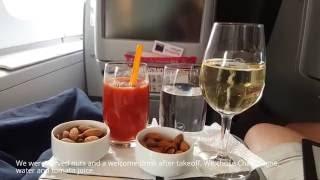 flight review lufthansa new business class fra pek a380 upper deck