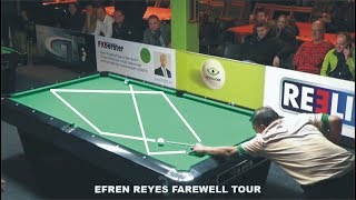 Legend Efren Reyes 2018 - Most Super Shots and Funny moments Compilation