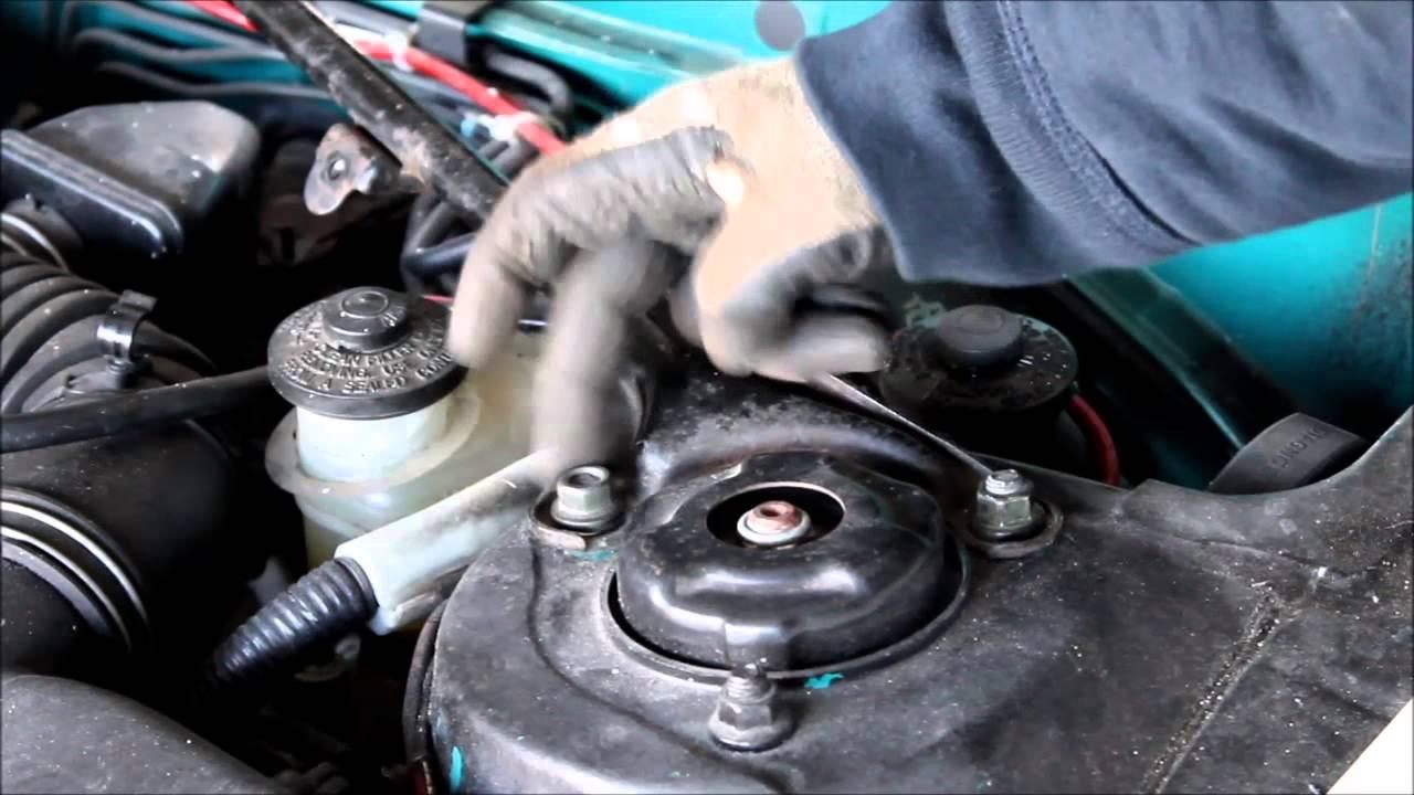 Toyota Celica T20 Fix -- Install a GT-Four ST205 Strut Bar ...
