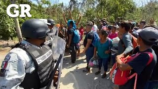 Superan migrantes a Guardia Nacional