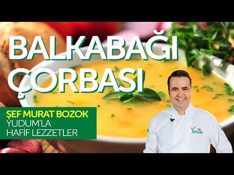 Balkabağı Çorbası Tarifi - Murat Bozok'la Hafif Lezzetler