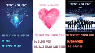 Download lagu TREASURE THE FIRST STEP: CHAPTER 1-3 Album Playlist 💎