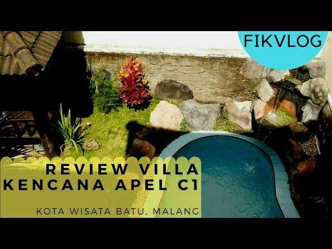 fikvlog-:-review-villa-kencana-apel-c1,-kota-wisata-batu,-malang-#fikvlog