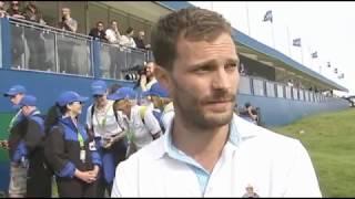 Jamie Dornan - DDF Irish Open Interview UTV