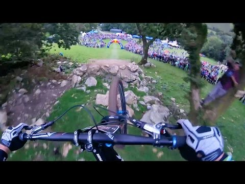 Ruaridh Cunningham's 2nd Place Downhill MTB Run | Red Bull Hardline: GoPro View