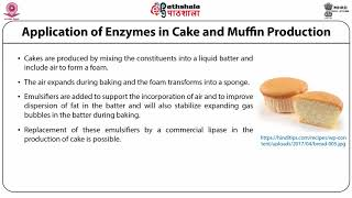 Enzyme application in baking and meat industry