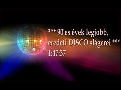 *** 90'es évek legjobb, eredeti DISCO slágerei *** 1:47:37 videó letöltése