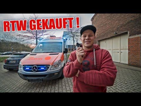 RTW GEKAUFT 🚑🚨🔥! - Sprinter V6 3.0 CDI  | ItsMarvin