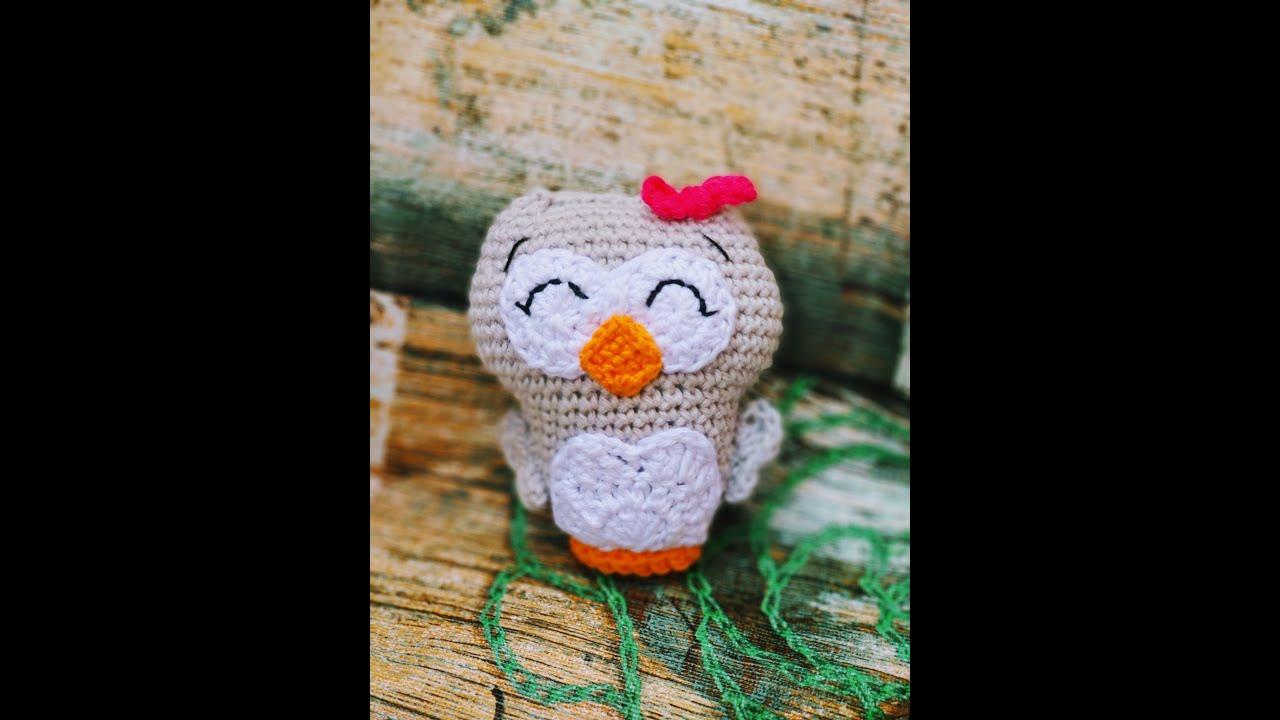 Tutorial Búho Amigurumi a Crochet | Crochet.eu | 720x1280