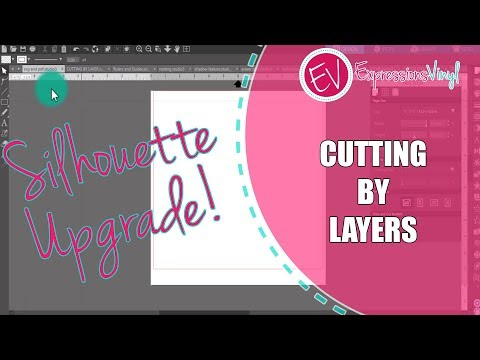 Silhouette Designer Edition Upgrade - Cutting By Layers