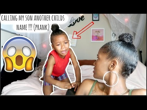 CALLING MY SON ANOTHER CHILDS NAME PRANK (HE MAKES ME SAD) !!! | LACY'S FILES