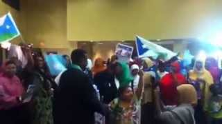Ahmed Ali igal at San Diego Jubaland party