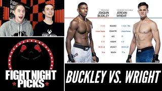 UFC 255: Joaquin Buckley Vs. Jordan Wright Prediction