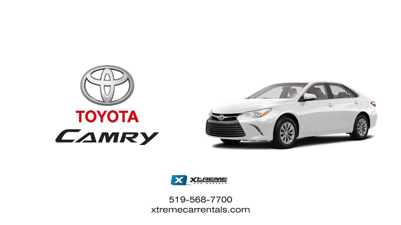 Concept Virtual Tour - 2015 Toyota Camry Xtreme Car Rental ...