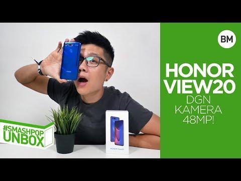 Buka Kotak HONOR View20 Dgn Kamera 48MP! #smashpopUNBOX | Smashpop