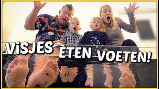 NAAR ViS SPA OP TEXEL 🐠 | Bellinga Familie Vloggers #1402
