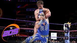 Gran Metalik vs. Drew Gulak: WWE 205 Live, Oct. 24, 2017
