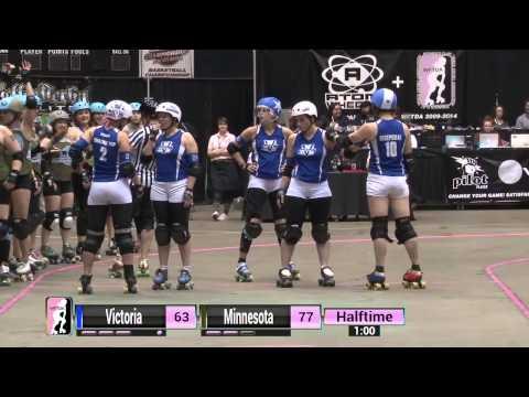 WFTDA Roller Derby: 2014 Championships - Victorian Roller Derby League vs. Minnesota RollerGirls