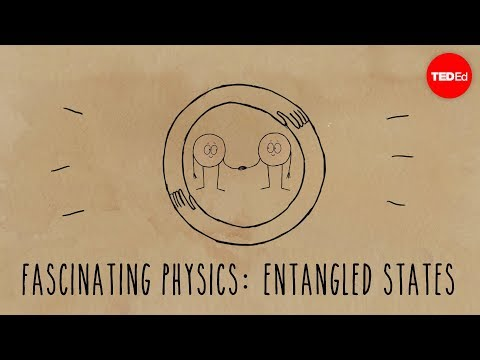 Video image: Einstein's brilliant mistake: Entangled states - Chad Orzel