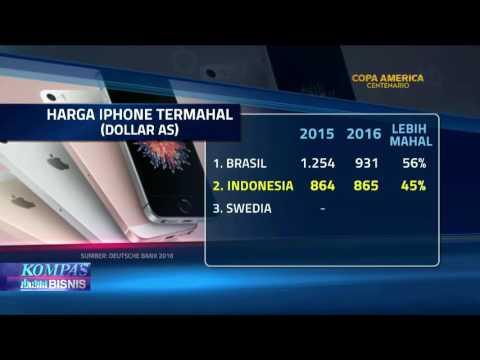 Harga iPhone di Indonesia Termahal Sedunia? - YouTube
