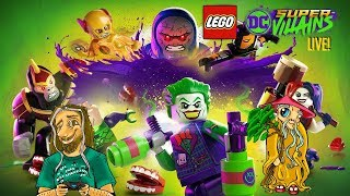 Lego DC Super-Villains LIVE #2 from The Madhouse with Uncle Strange [2018/11/19]