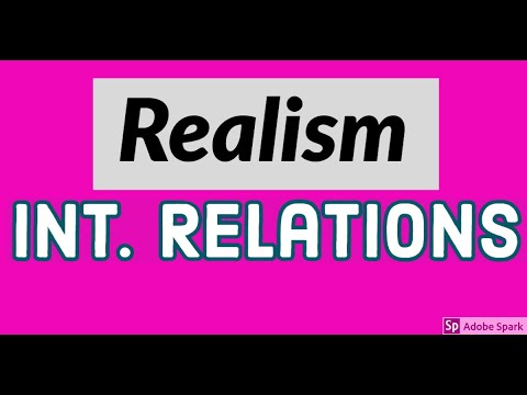 What is Realism? International Relations Theories (CSS/IAS/UPSC)