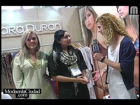 Colombiamoda 2010 ::: Entrevista a Diseñadores y Marcas (Parte 3 de 7)  ::: www.ModaenlaCiudad.com