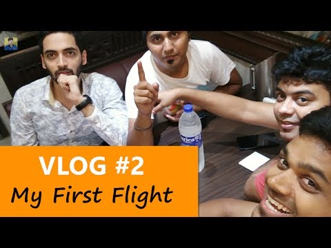 Tamil Selvan VLOG #2 : My First Flight - Bangalore to Mumbai