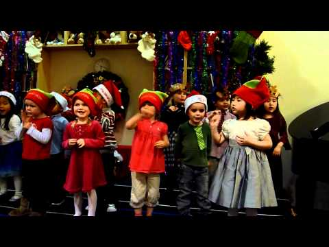 Lucy's Christmas Performance- My First Montessori 2010