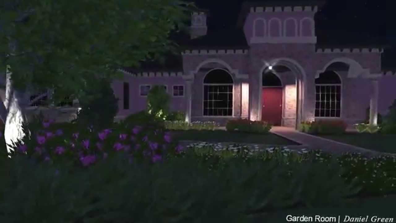 Earthscapes Garden Room Landscape Design Youtube