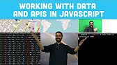 Working with Data and APIs in JavaScript - YouTube