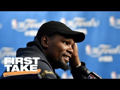 Kevin Durant Title Win Doesn't Validate Move To Warriors | First Take | June 9, 2017