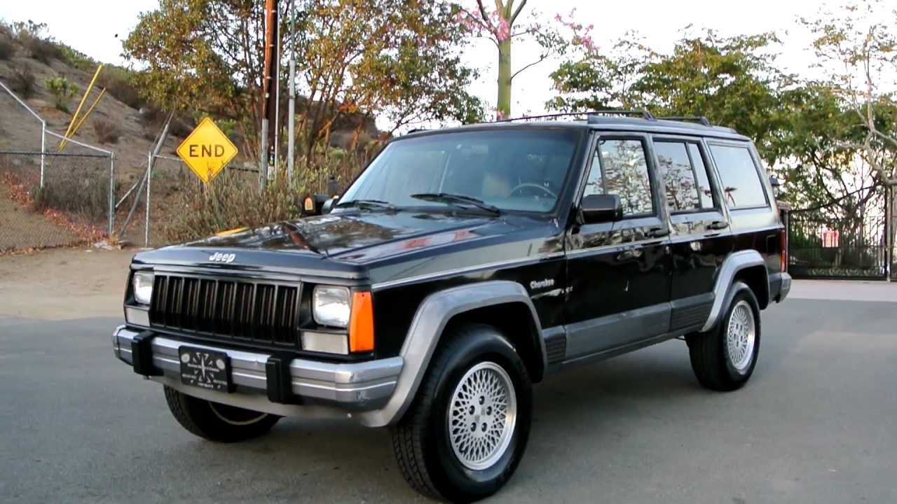 1995 jeep cherokee country sport xj 2x4 manual 5 speed no woodie briarwood [ 1280 x 720 Pixel ]