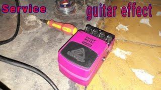 Memperbaiki efek gitar Behringer SM400 yang rusak - bukan tutorial