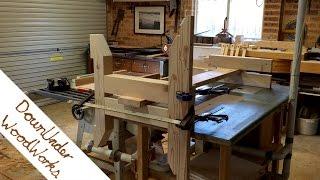 Building a huge reclaimed oregon (douglas fir) outdoor table (part 2)