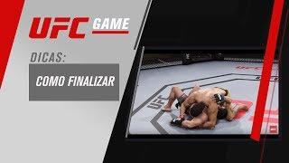 GAME UFC: DICAS SOBRE FINALIZAÇÃO