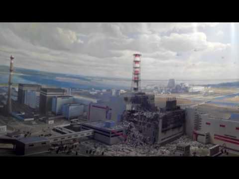 3D анимация взрыва на Чернобыльской АЭС |  3D Animation Of The Explosion At Chernobyl Power Plant
