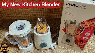My new Kitchen Kenwood Blender…